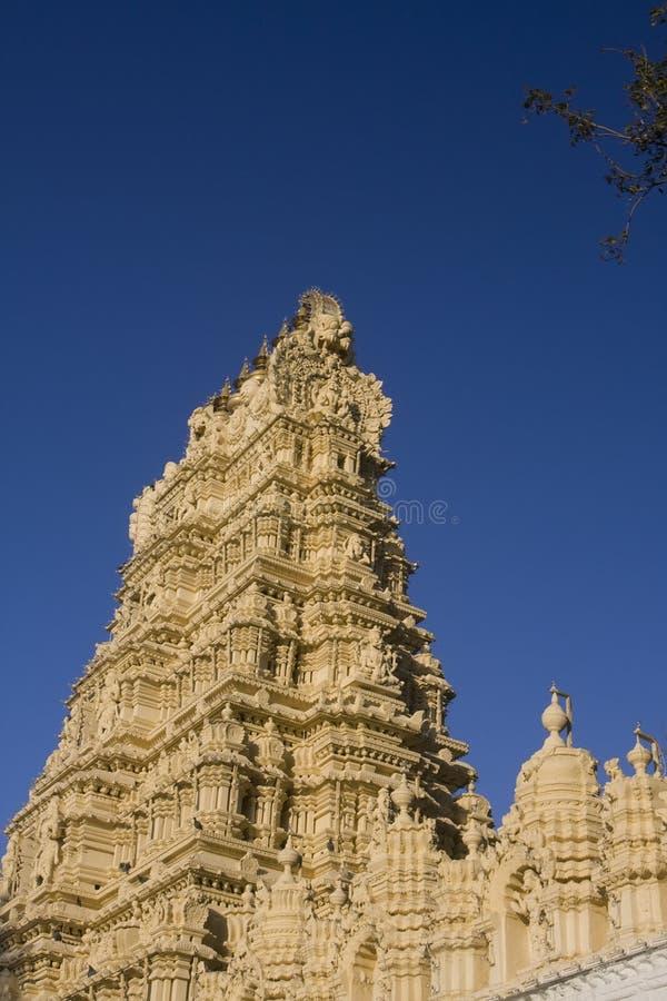 tempel för maharaja mysore fotografering för bildbyråer