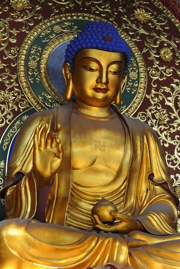 tempel för porslinhangzhou lingyin arkivbild