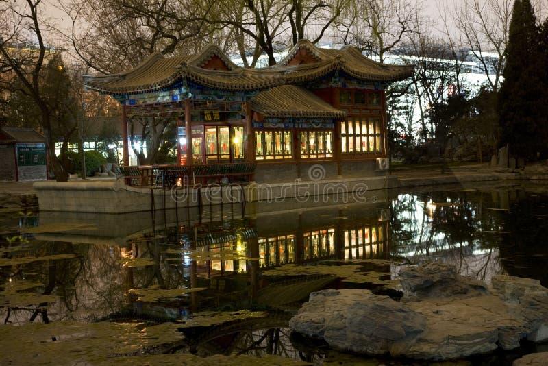 tempel för sun för beijing fartygsten fotografering för bildbyråer