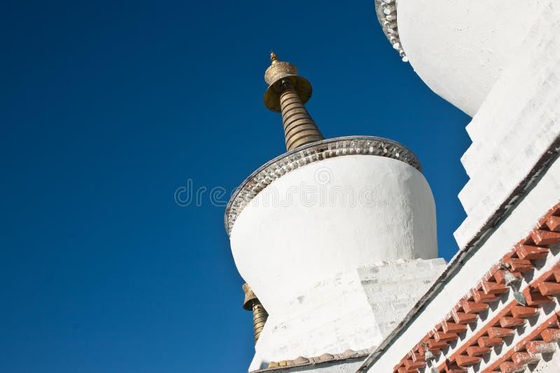 Tempel för tibetan buddism royaltyfri foto