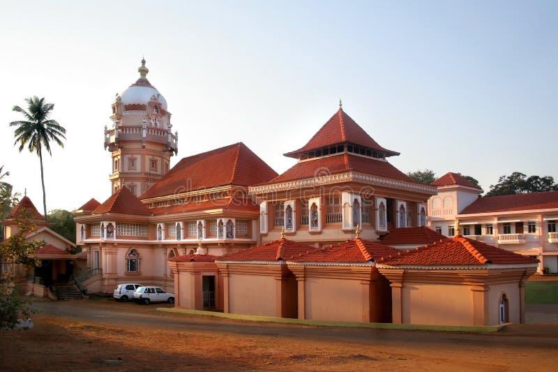 Tempel in Goa lizenzfreie stockbilder