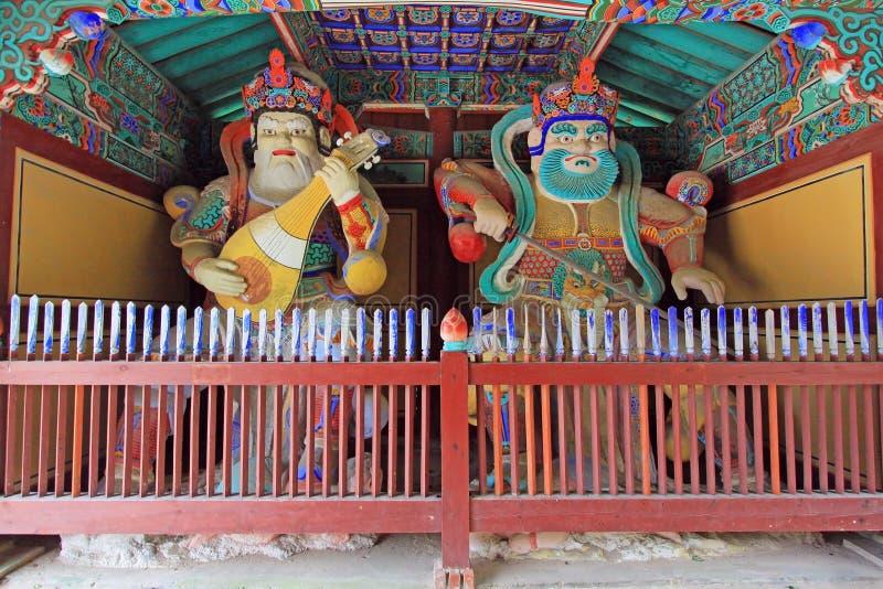 Tempel Gyeongjus Girimsa, Südkorea stockfoto