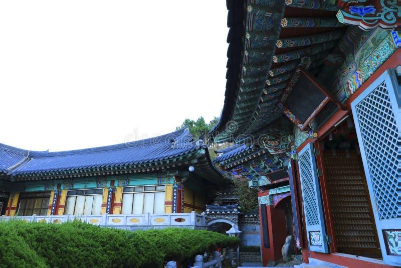 Tempel Haedong Yonggungsa in Busan, Südkorea lizenzfreie stockfotografie