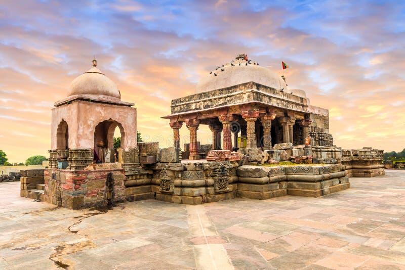 Tempel Harshat Mata stockbilder