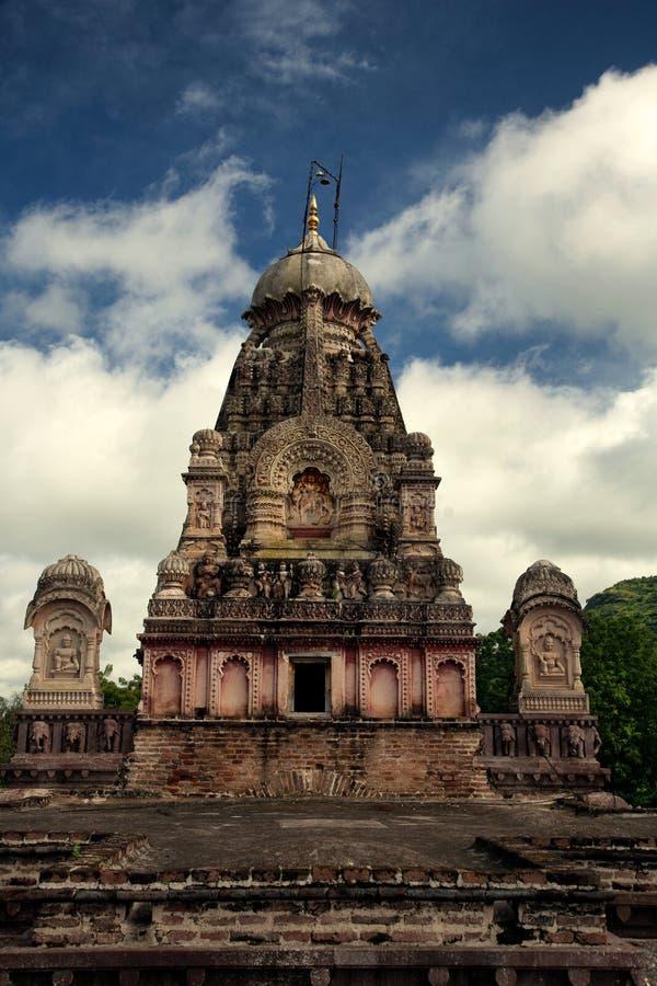 Tempel-Hemadpanthi Verul Ellora Aurangabad Jyotirling Ghrneshwar Jyotirlinga Shiva stockfotografie
