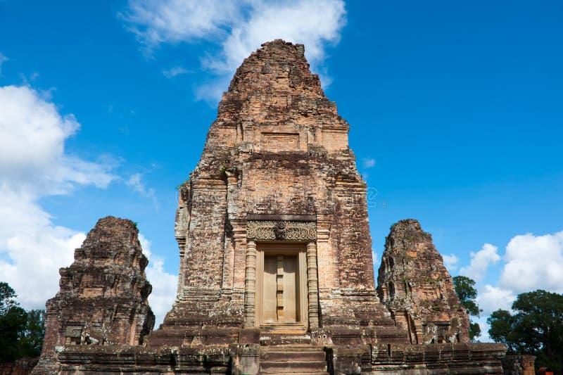 Tempel i Angkor, Cambodja. arkivfoto