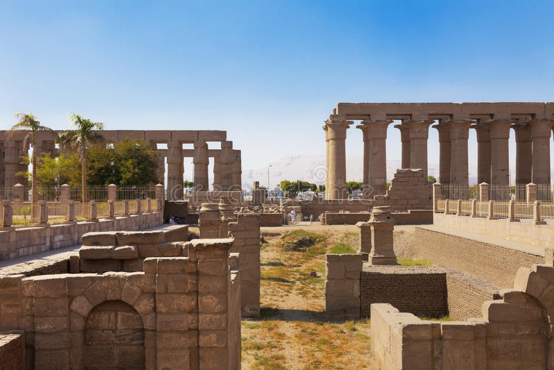Tempel i Aswan royaltyfri foto