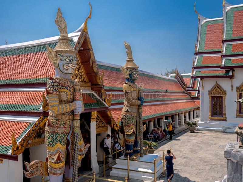 Tempel i den kungliga slotten arkivbild