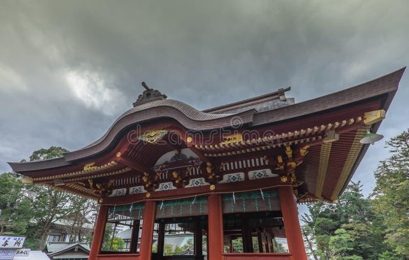 Tempel i Fujisawa fotografering för bildbyråer