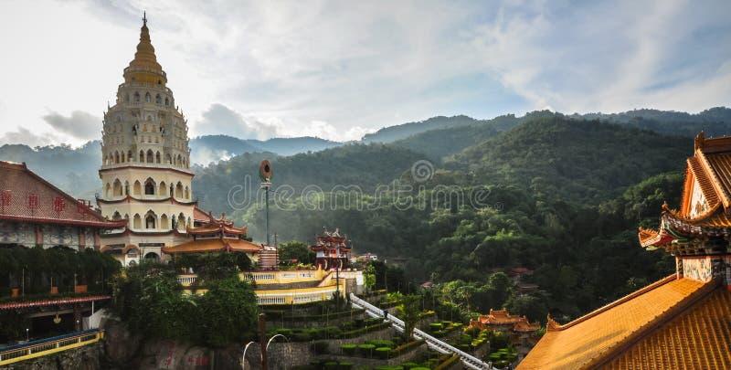 Tempel i George Town, Penang, Malaysia royaltyfria foton