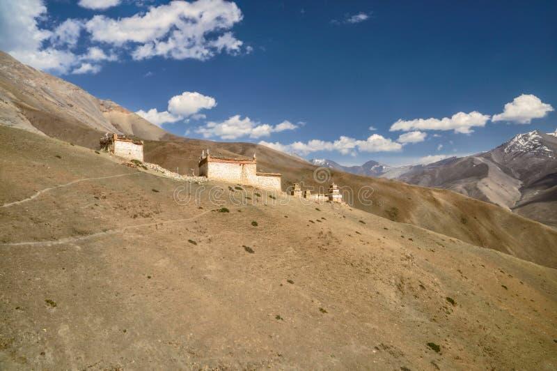 Tempel i Nepal fotografering för bildbyråer