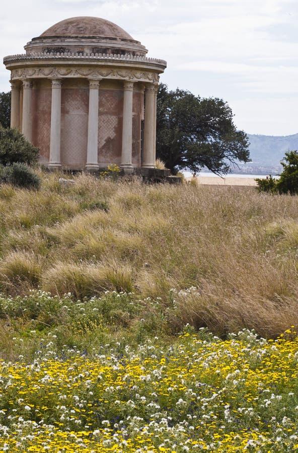 Tempel I Palermo, Monte Pellegrino Royaltyfri Bild