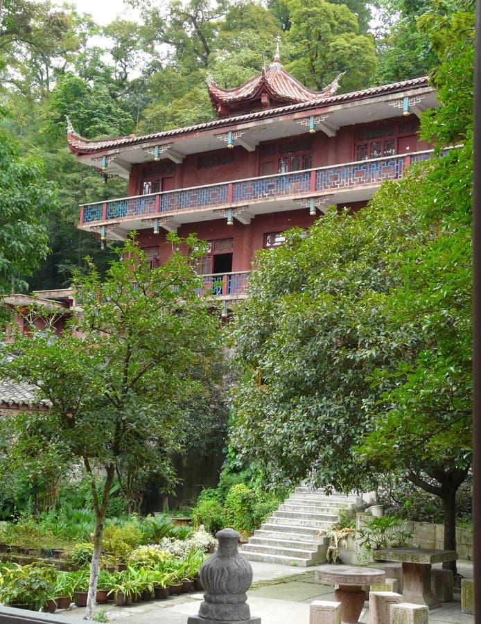 Tempel i staden av Guiyang, Kina royaltyfria bilder