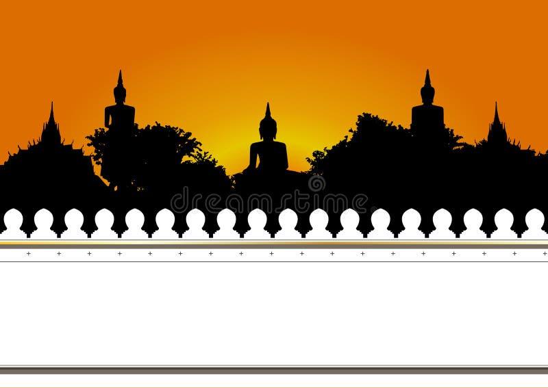 Tempel i Thailand  royaltyfri fotografi