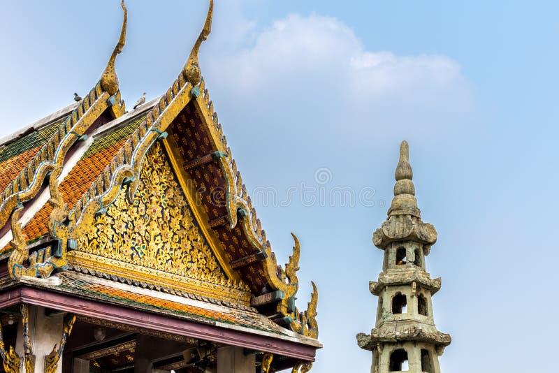 tempel i Thailand och Asien royaltyfri bild