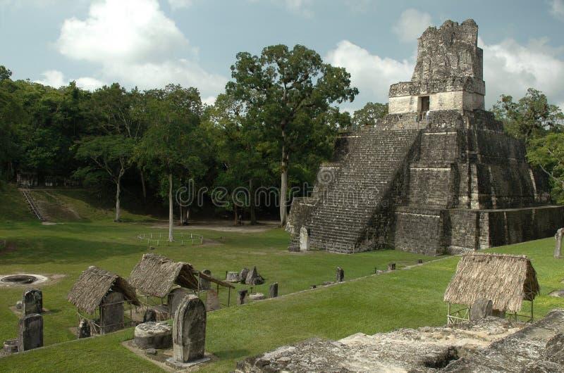 Tempel II stock afbeelding