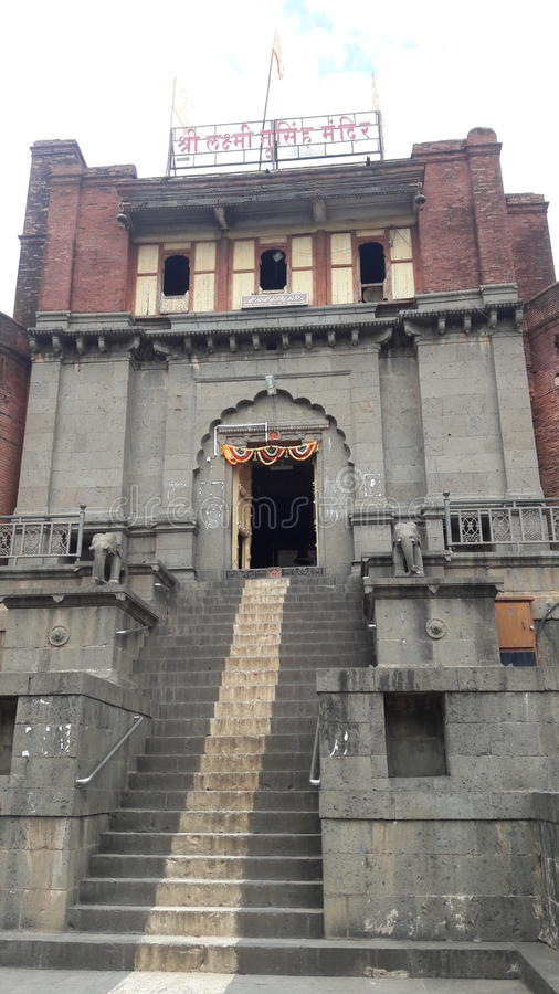 Tempel in India stock afbeeldingen