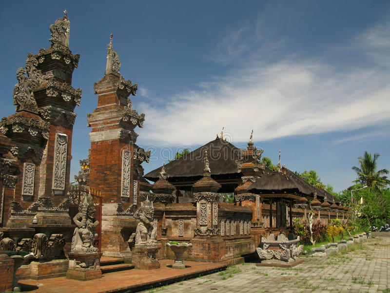 Tempel in Indonesië stock afbeelding