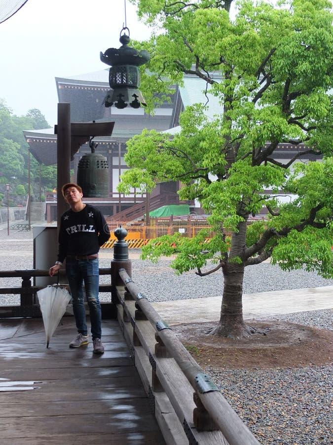 tempel Japan stock afbeeldingen