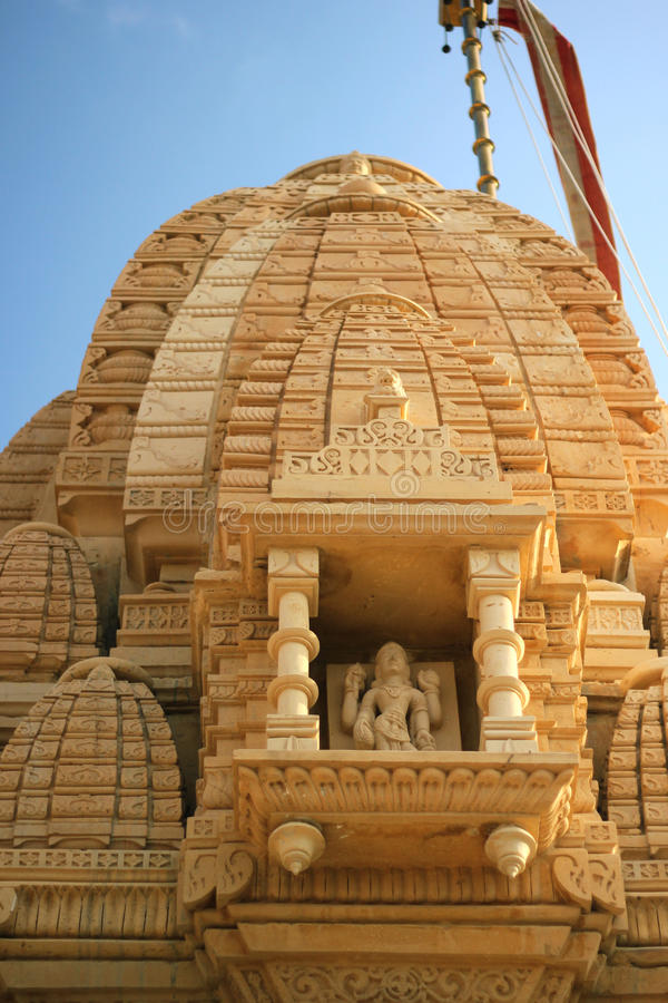 Tempel in Jodpur stock afbeelding