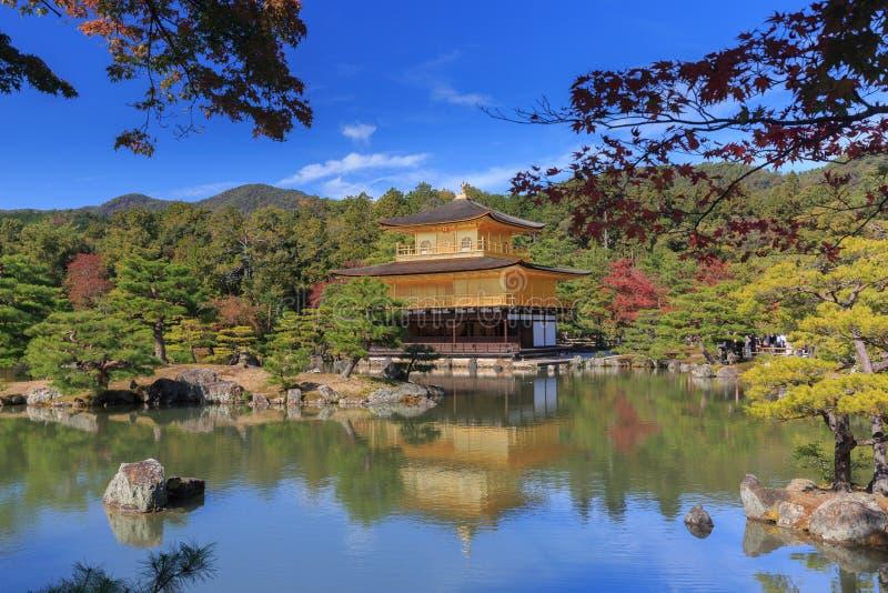 Tempel kinkaku-Ji stock afbeelding