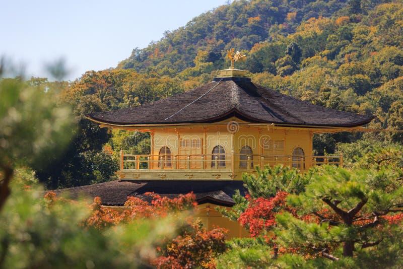 Tempel kinkaku-Ji stock foto's