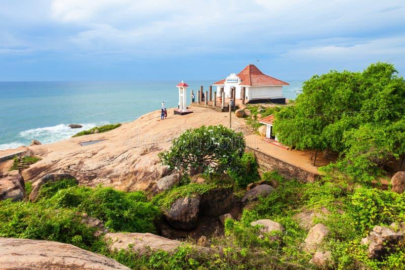 Tempel Kirinda Viharaya, Tissamaharama lizenzfreies stockfoto