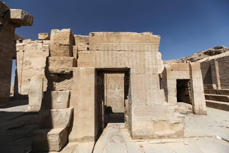 Tempel Kom Ombo in Assuan, Ägypten stockfoto