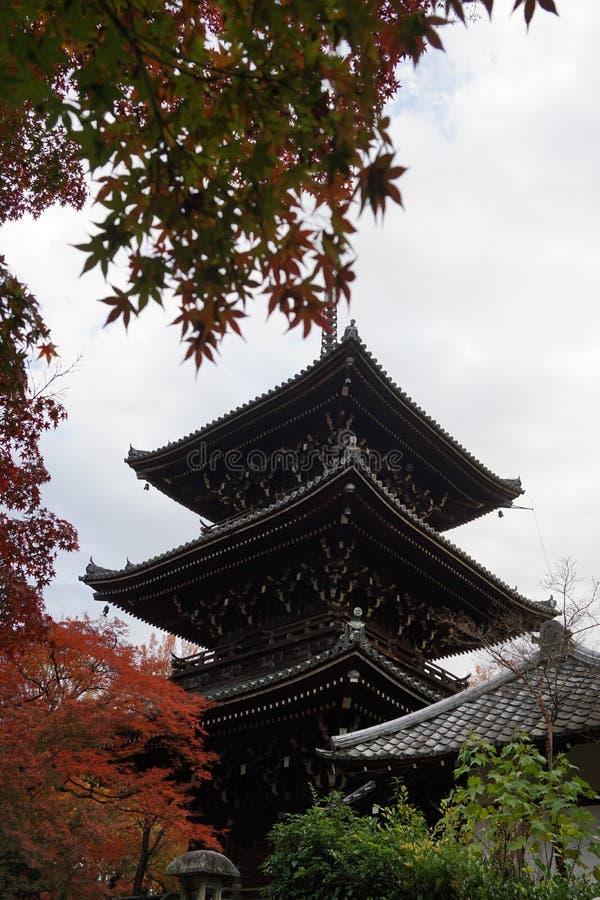 Tempel in Kyoto stockfotos