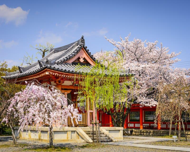 Tempel in Kyoto royalty-vrije stock afbeelding