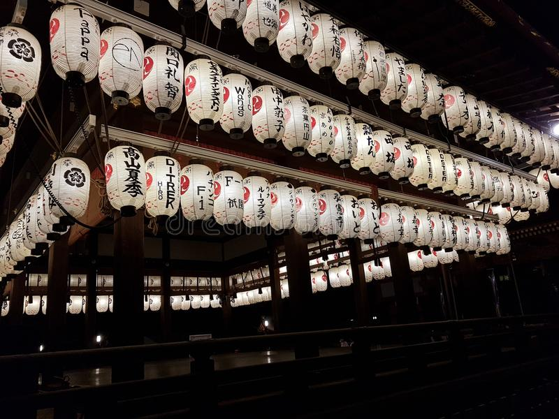 Tempel Kyotos, Japan stockfotos