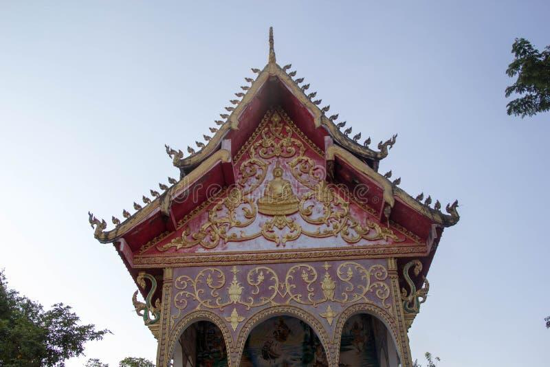 Tempel in Laos lizenzfreie stockfotografie