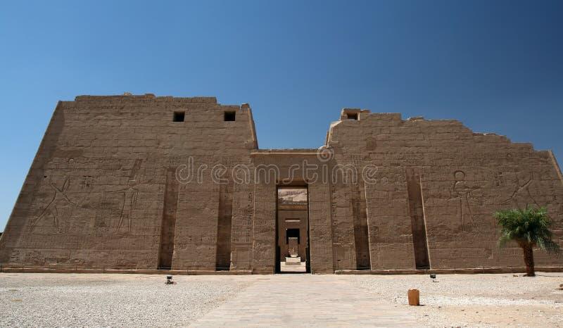 Tempel in Luxor lizenzfreie stockfotos
