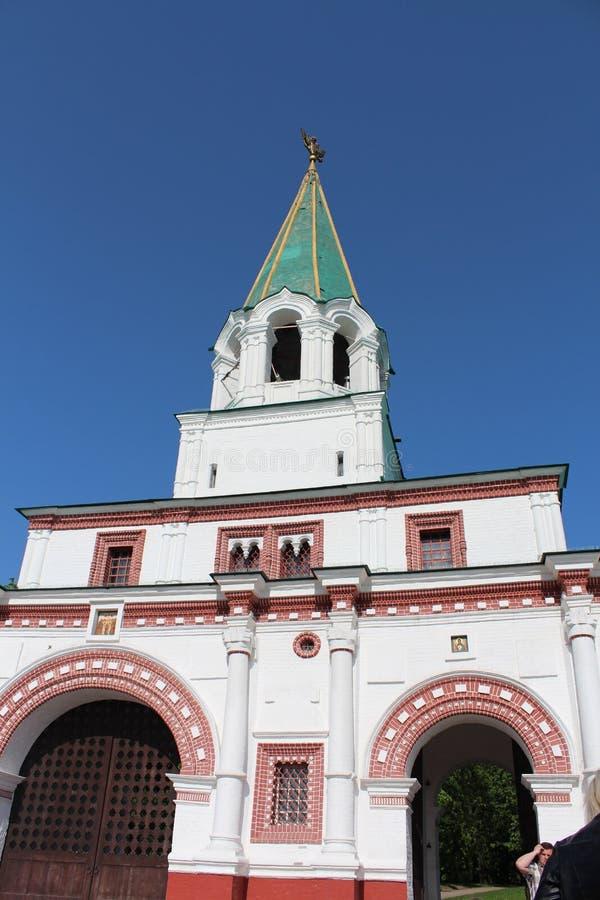 Tempel in Moskou royalty-vrije stock foto