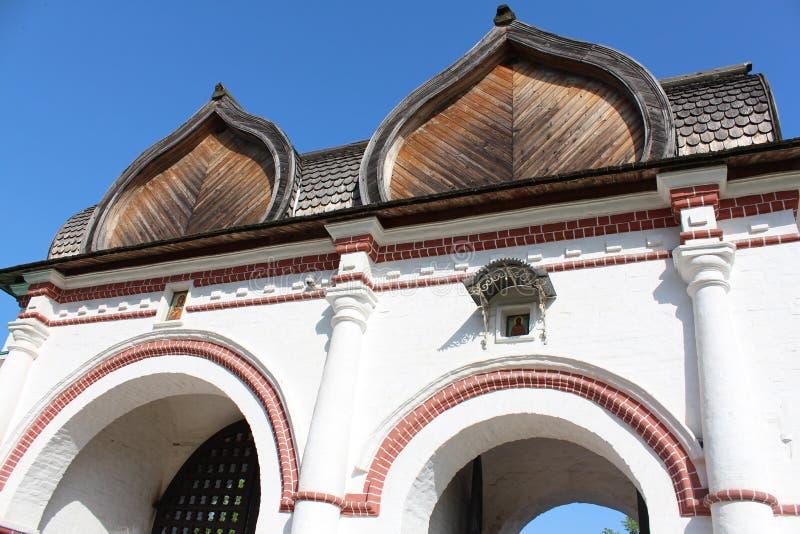 Tempel in Moskou royalty-vrije stock afbeelding