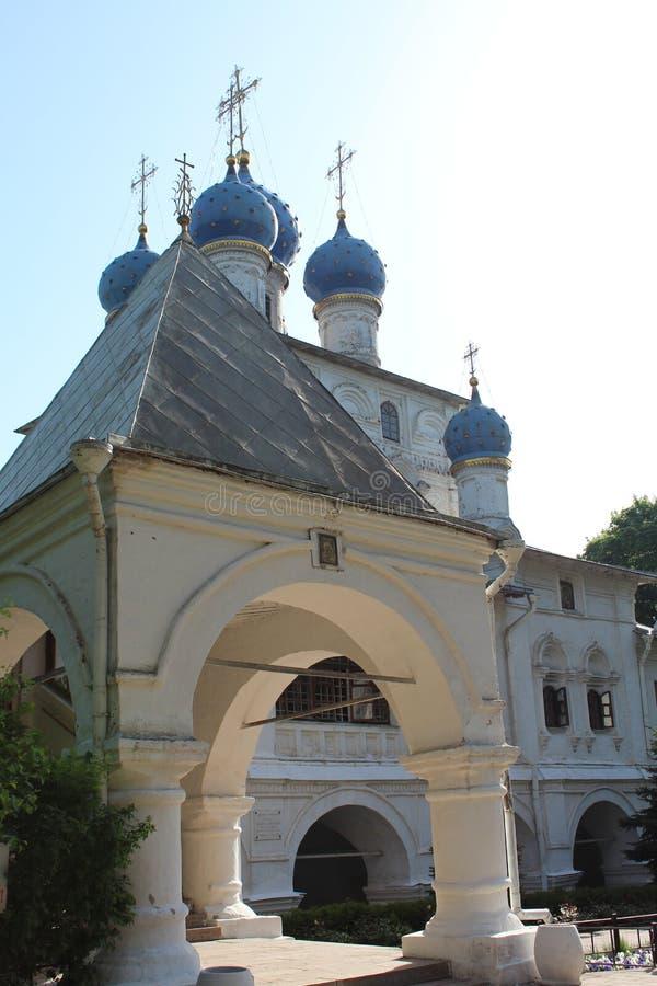 Tempel in Moskou royalty-vrije stock foto's
