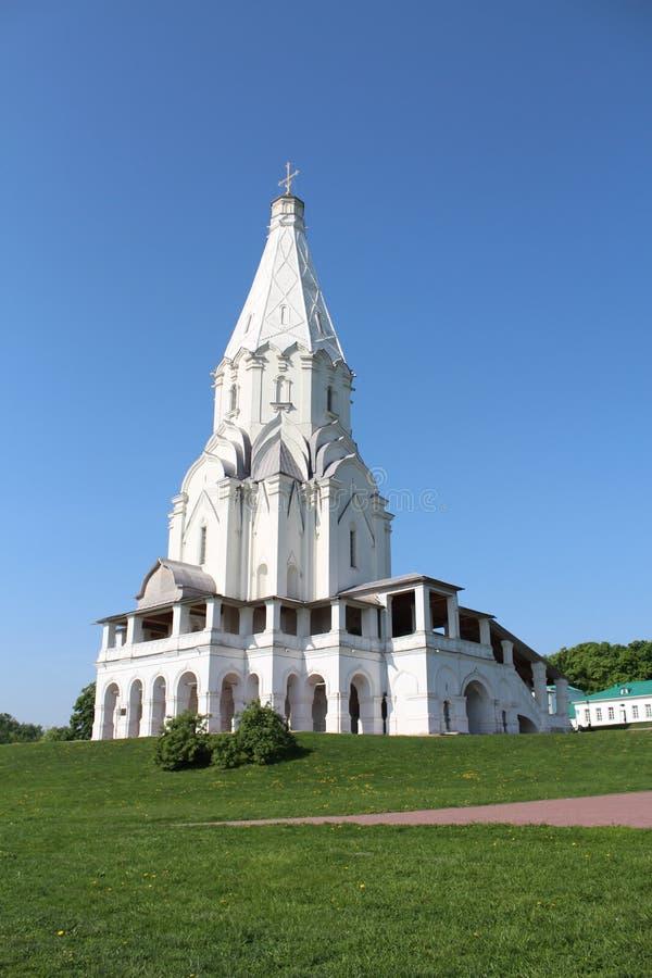 Tempel in Moskou stock foto