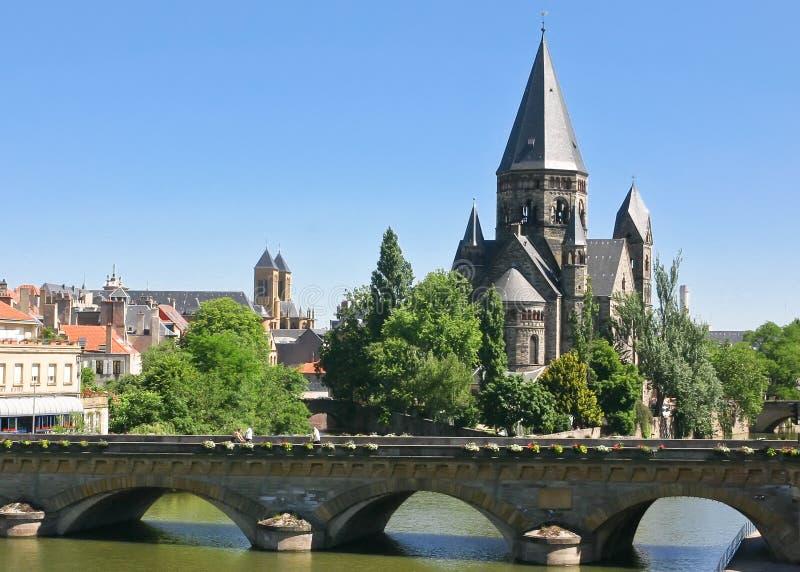 Tempel Neuf Metz lizenzfreie stockfotografie