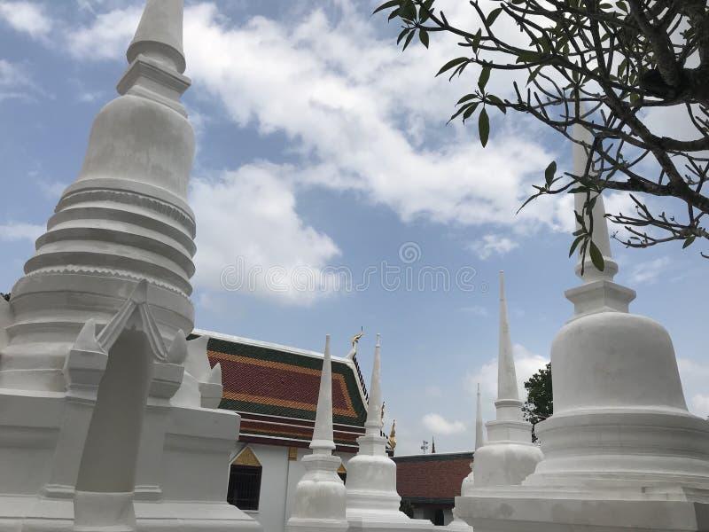 Tempel in Nhakon-Si Thammarat lizenzfreie stockfotos