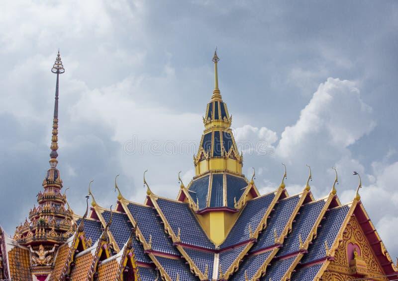 Tempel op de berg van Khao Takeab in Thailand stock fotografie