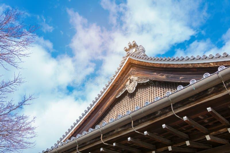 Tempel in Osaka Japan royalty-vrije stock fotografie