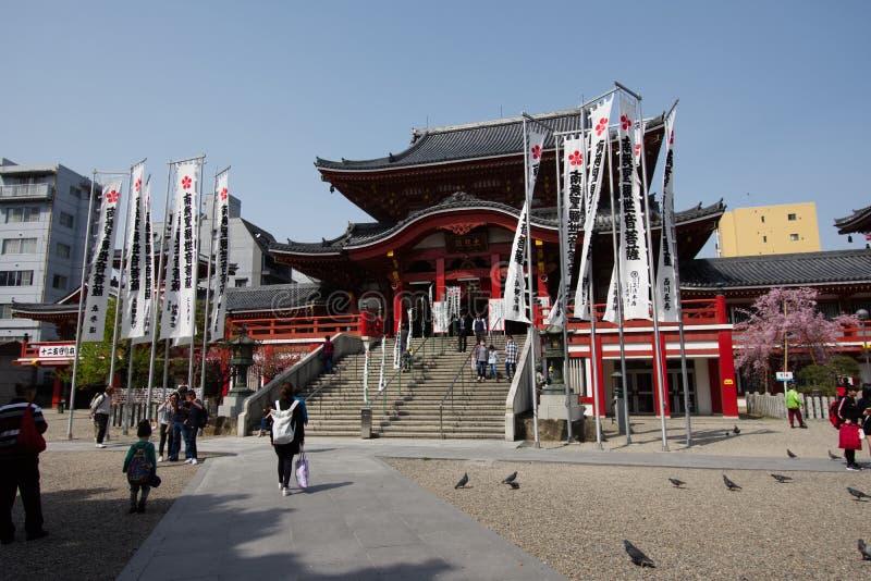 Tempel Osu Kannon stockbild