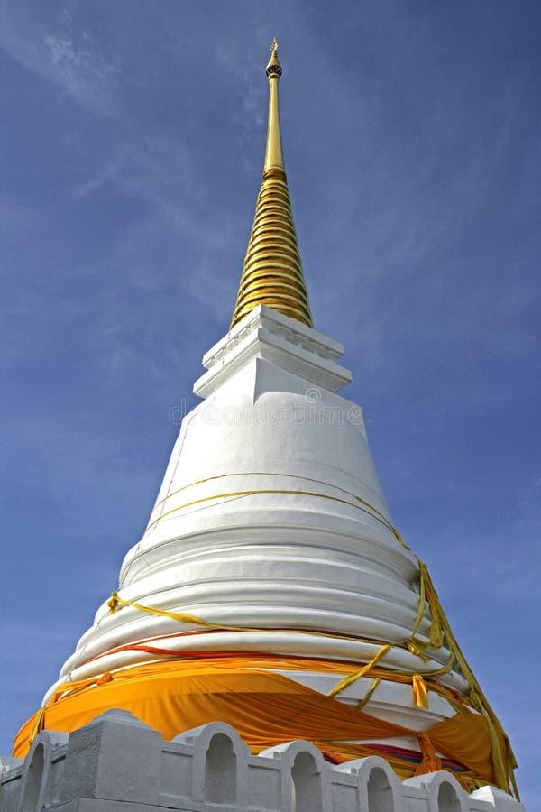 Tempel på Khao Dang Kuan i Songklah, Thailand royaltyfri fotografi