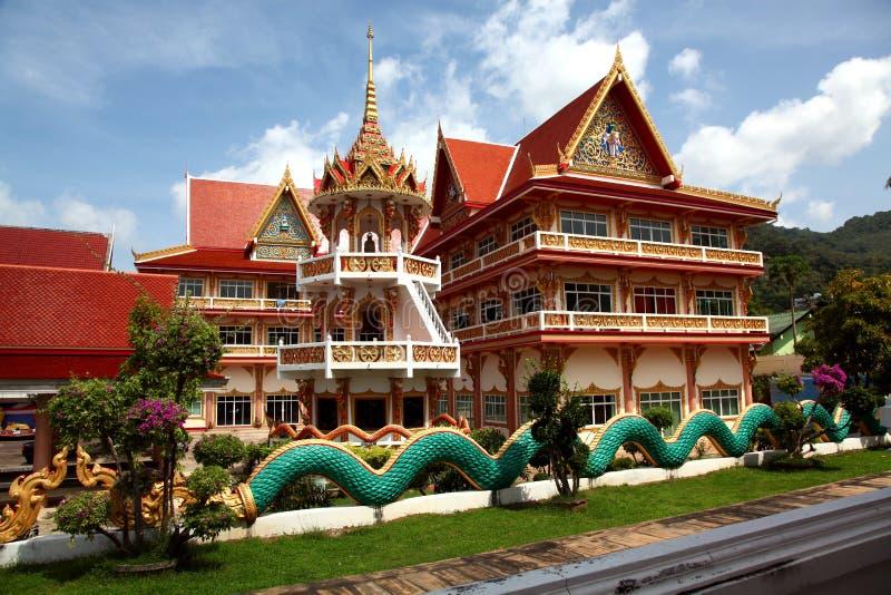 Tempel in Phuket royalty-vrije stock fotografie
