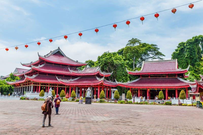 Tempel Semarang Java stock foto's
