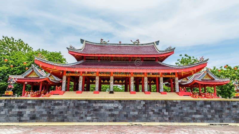 Tempel Semarang Java stock afbeelding