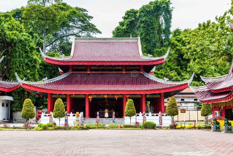 Tempel Semarang Java royalty-vrije stock foto's