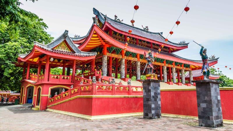 Tempel Semarang Java lizenzfreie stockfotos