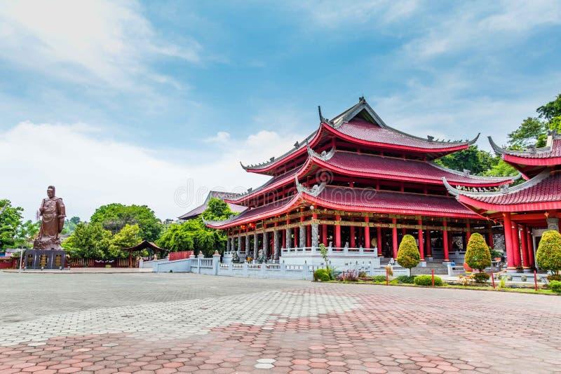 Tempel Semarang Java stockfoto
