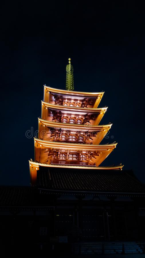 Tempel Senso Ji stockfoto